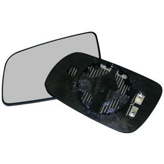 Ford Fiesta 95-02 Mirror Glass With Backing Plate - Passenger Side